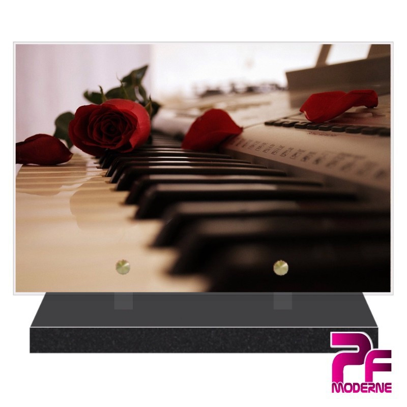 PLAQUE FUNÉRAIRE PIANO PFM1038