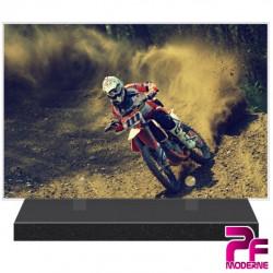 PLAQUE FUNÉRAIRE COURSE MOTO CROSS PFM10355
