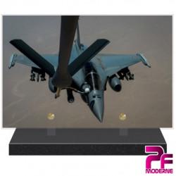 PLAQUE FUNÉRAIRE ARMÉE DE L'AIR RAFALE PFM9025