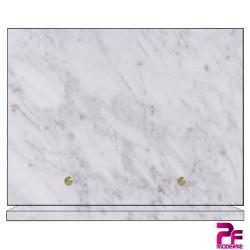 PLAQUE FUNÉRAIRE CHIENS A PERSONNALISER marbre blanc