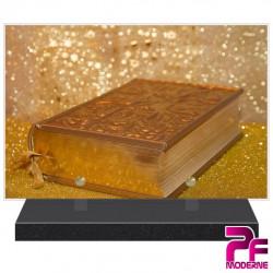 PLAQUE FUNÉRAIRE RELIGION CHRÉTIENNE BIBLE PFM6210