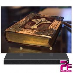 PLAQUE FUNÉRAIRE RELIGION CHRÉTIENNE BIBLE PFM6214