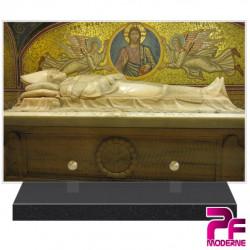 PLAQUE FUNÉRAIRE RELIGION CHRÉTIENNE TOMBEAU PAPE JEAN PAUL II PFM6231