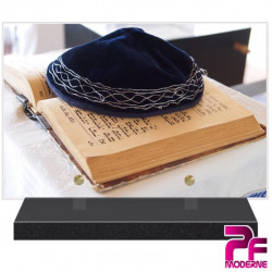PLAQUE FUNÉRAIRE RELIGION JUIVE TORAH KIPA PFM6303