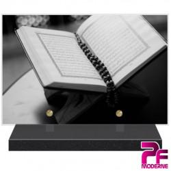 PLAQUE FUNÉRAIRE RELIGION MUSULMANE CORAN PFM6404