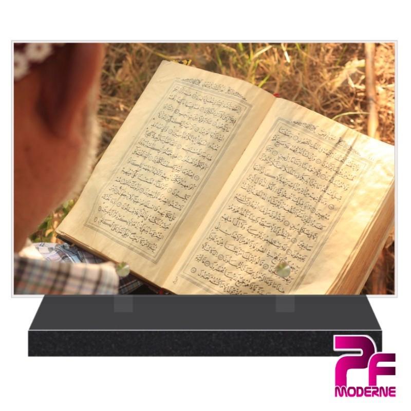 PLAQUE FUNÉRAIRE RELIGION MUSULMANE CORAN PFM6413