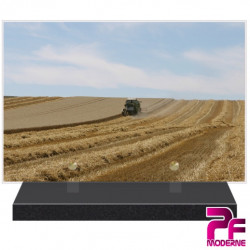 PLAQUE FUNÉRAIRE NATURE MOISSONS AGRICULTURE PFM2117