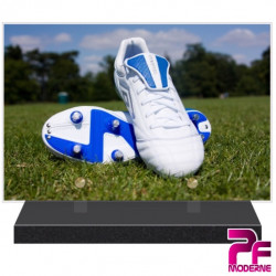 PLAQUE FUNÉRAIRE FOOTBALL CHAUSSURE A CRAMPONS PFM10159