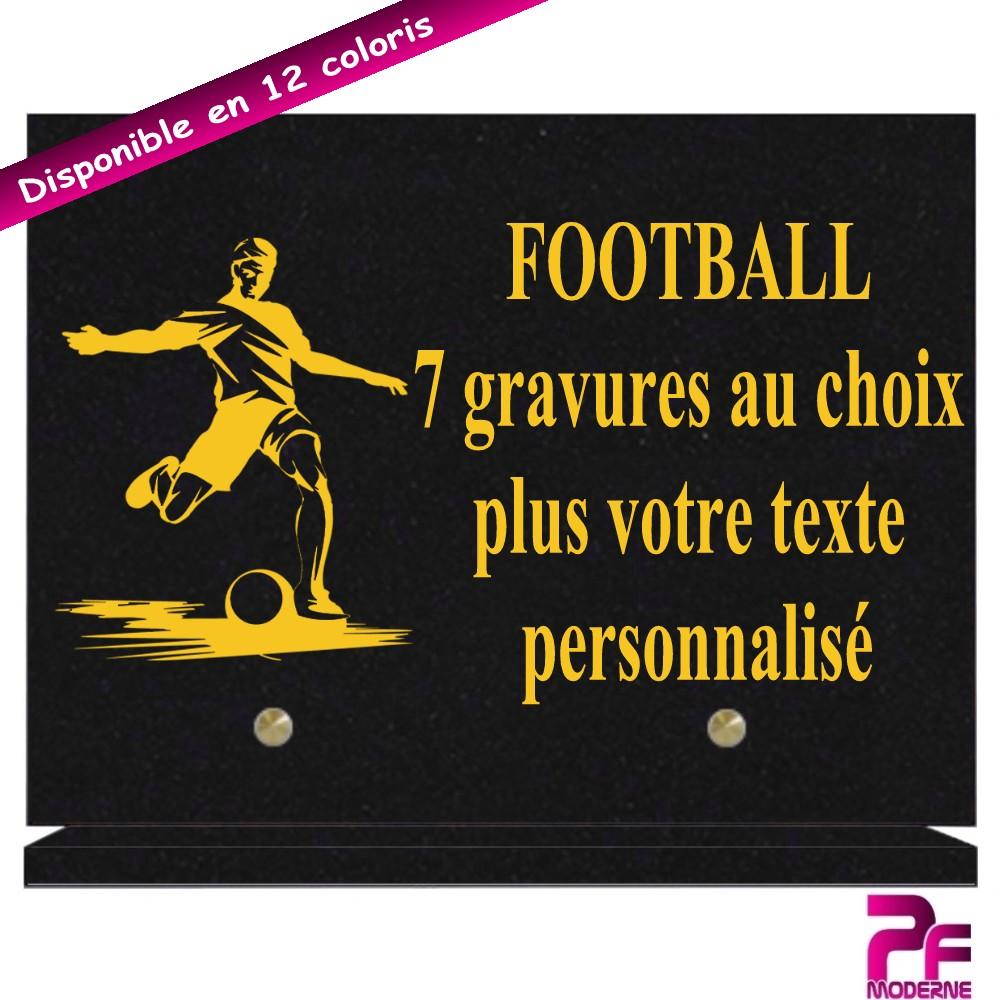 PLAQUES FUNÉRAIRES FOOTBALL