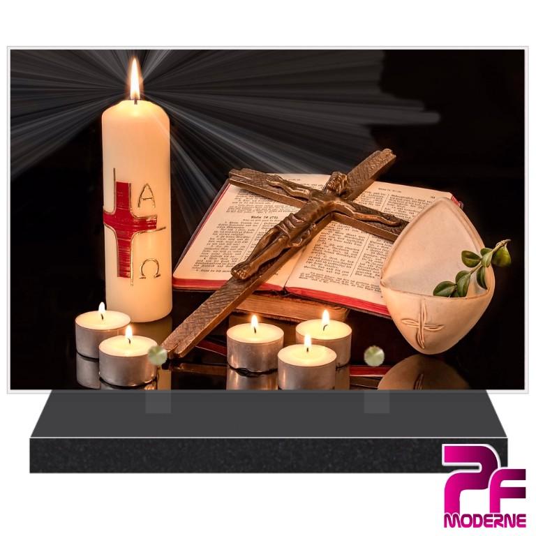 PLAQUES FUNÉRAIRES MODERNES RELIGIONS THÈME RELIGIONS Catholique, Protestante, Juive, Musulmane, Bouddhiste....