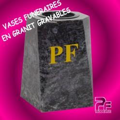 VASES GRANIT FUNÉRAIRES PERSONNALISABLES